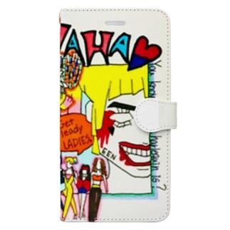 ハーレイクイン Book-style smartphone case