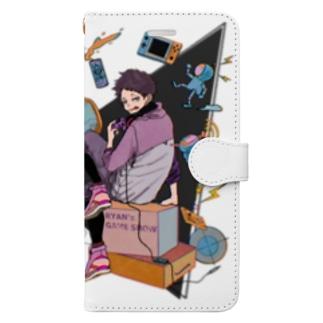 ライアンGAMING SHOW iPhoneケース Book-style smartphone case