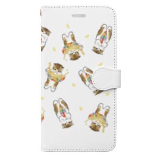 mofusandの下手くそかっ Book-style smartphone case