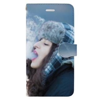 Smoke Girls 02 Book-style smartphone case
