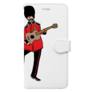 ロンドンおじさん Book-style smartphone case