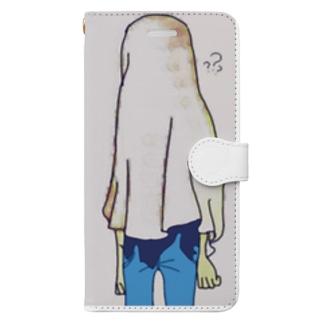 お先真っ暗 Book-style smartphone case