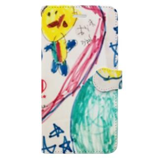 すーちゃんオリジナル1 Book-style smartphone case