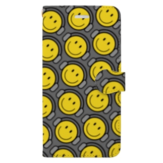 Sk8ersLoungeのnicetimeドット② Book-style smartphone case