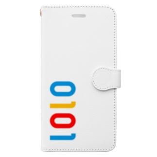 marikiroの0101_誕生日_記念日_カラー Book-style smartphone case