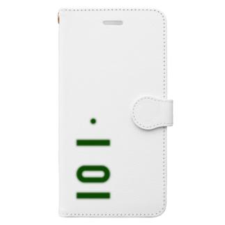 marikiroの0101_誕生日_記念日_ナンバープレート Book-style smartphone case