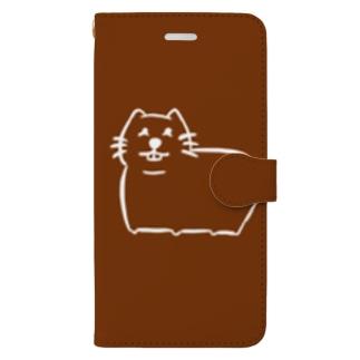 むちばっと茶色 Book-Style Smartphone Case