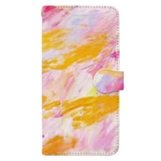 chiakiuedaのメリーゴーランドがある丘 Book-style smartphone case