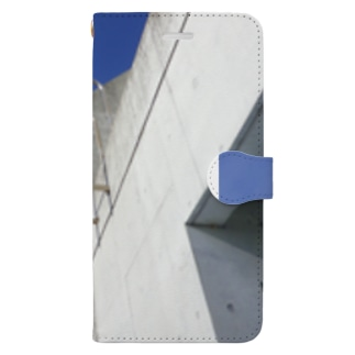 BLUE EXIT Book-style smartphone case