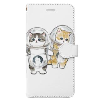 mofusandの防御力ZERO宇宙服 Book-style smartphone case