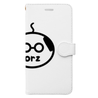 orzさん(眼鏡、修正版) Book-Style Smartphone Case