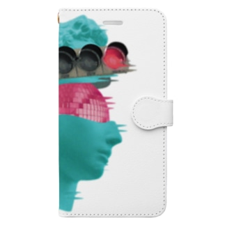 K collage01 Book-style smartphone case