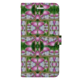 レトロマッシュルーム・ムレオオフウセン Book-style smartphone case