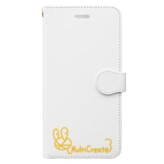 MultiCreateロゴ Book-style smartphone case