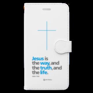 一羽のすずめのJeus Is Book-style smartphone case