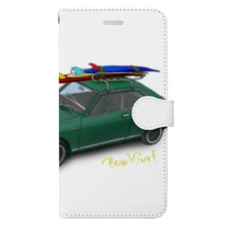 「サーフィン珍道中」出版記念 Book-style smartphone case