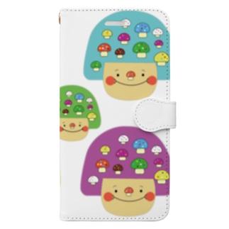 mushgirl Book-style smartphone case