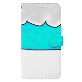 自画像コップ Book-Style Smartphone Case