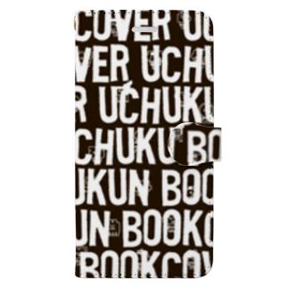 FONTでかくれんぼ Book-style smartphone case