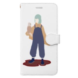 煮豆 Book-style smartphone case