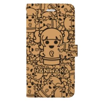 ハニワカちゃん2021 Book-style smartphone case
