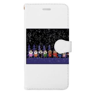長与 千種 Chigusa Nagayoのマーベルドッグス笠地蔵 Book-style smartphone case