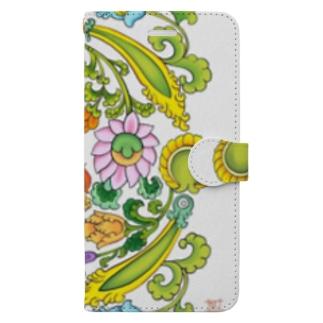 お散歩 Book-style smartphone case