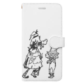 ゾンビプペル Book-style smartphone case