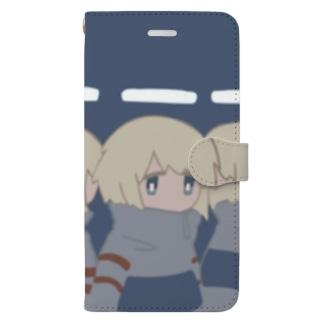 蛍光灯てんしたち Book-style smartphone case