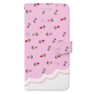 Tsun tun tulip Book-style smartphone case