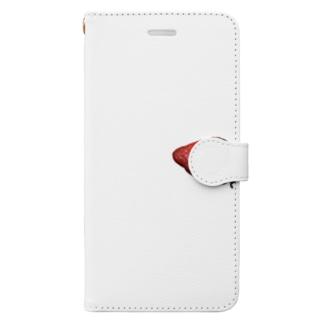 横いちご Book-style smartphone case