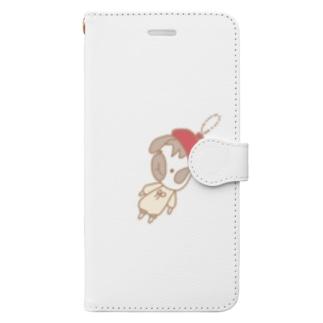 グッズになったかしこい君 Book-style smartphone case