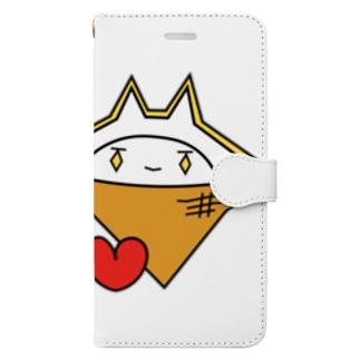 10周年記念グッズ(11)アイスクリーム Book-style smartphone case