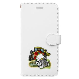 牧場のおうさま Book-style smartphone case
