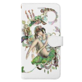 幾望の夢 フルサイズ Book-style smartphone case