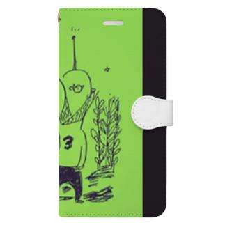 外来種三人組 Book-style smartphone case