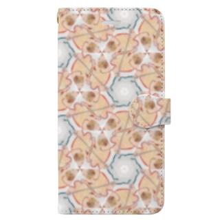 ねぐせ模様 Book-style smartphone case