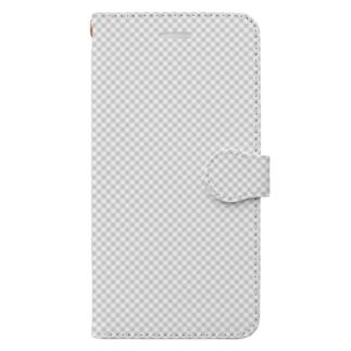 この世には存在しない透明な何か Book-style smartphone case