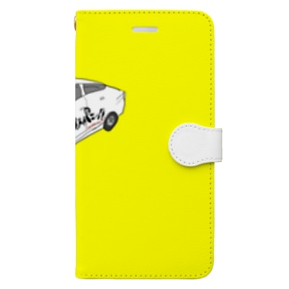 ナイスパニック店のナイスパニックカースマホケース #1 Book-style smartphone case