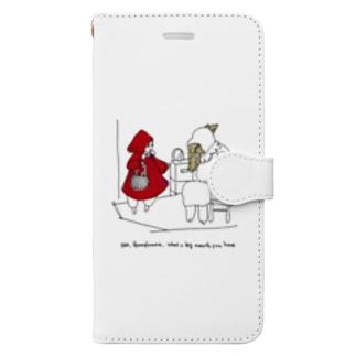 赤ずきんちゃん Book-style smartphone case