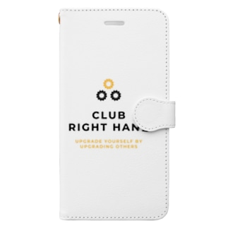 Club Right Handのアイテムたち Book-style smartphone case