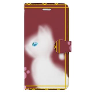 王宮の猫 Book-style smartphone case