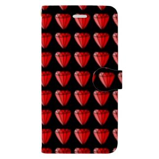 riekim ダイヤ Book-style smartphone case