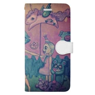 tippi       ..chiyokoのサーカスの夢2 Book-style smartphone case
