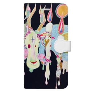 祈り Book-style smartphone case