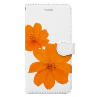 キバナコスモス Book-style smartphone case