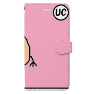 UCおしり君 Book-style smartphone case