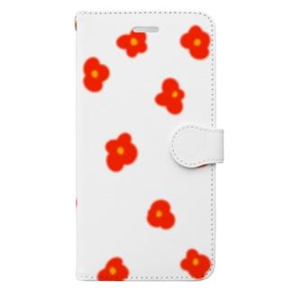 ハナ・アカ Book-style smartphone case