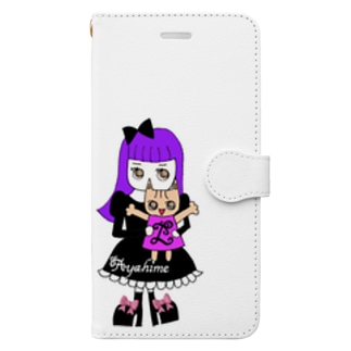 綾姫&レヴィン手帳型スマホケース Book-Style Smartphone Case