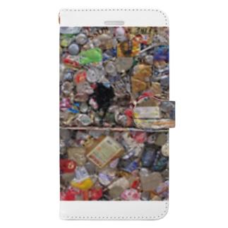 お店屋さんの圧縮 Book-style smartphone case